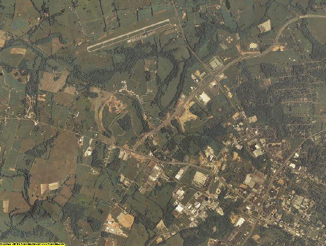 Barren County, Kentucky aerial photography