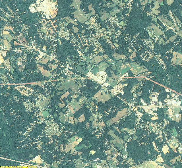 Barrow County, Georgia aerial photography