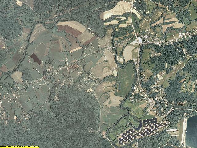 Bath County, Kentucky aerial photography