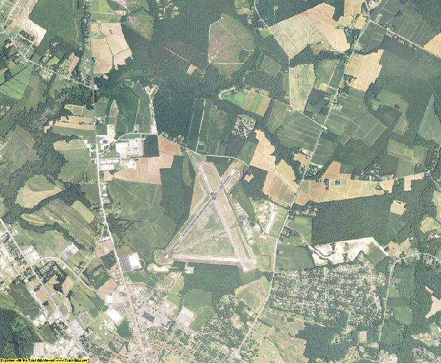 Beaufort County, North Carolina aerial photography