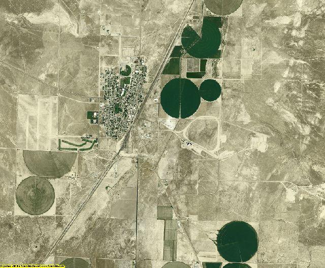 Beaver County, Utah aerial photography