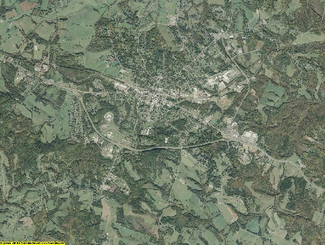 Bedford County, Virginia aerial photography