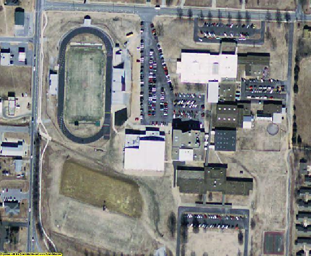 Benton County, AR aerial photography detail