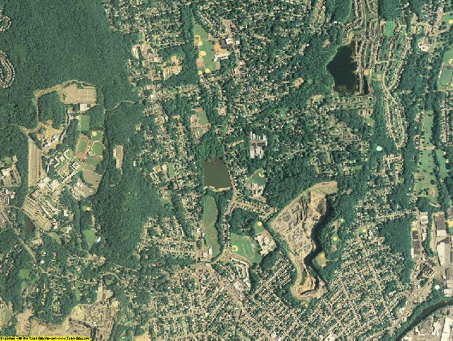 Bergen County, New Jersey aerial photography