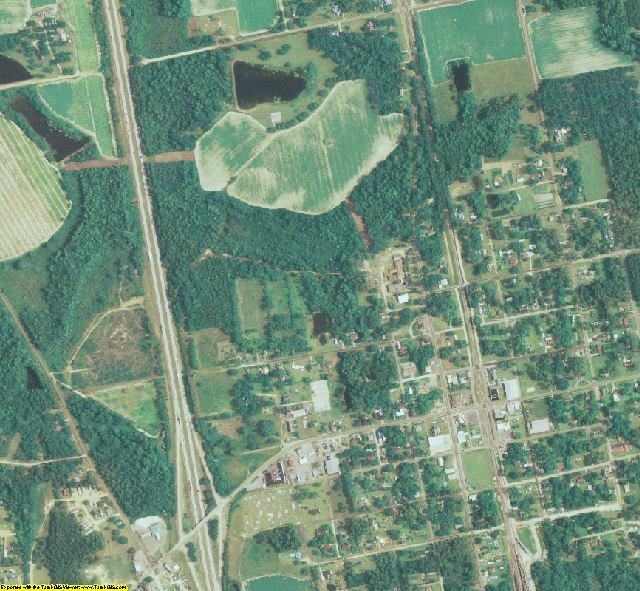 Berrien County, GA aerial photography detail