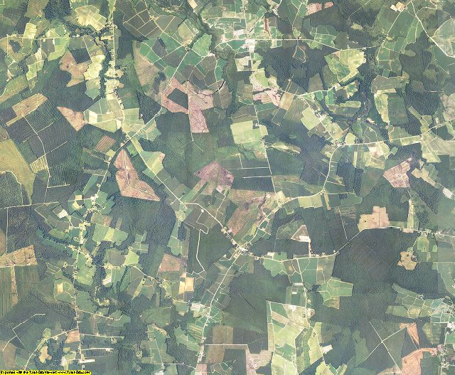 Bertie County, North Carolina aerial photography
