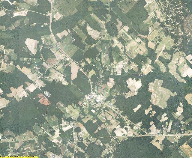 Bladen County, North Carolina aerial photography