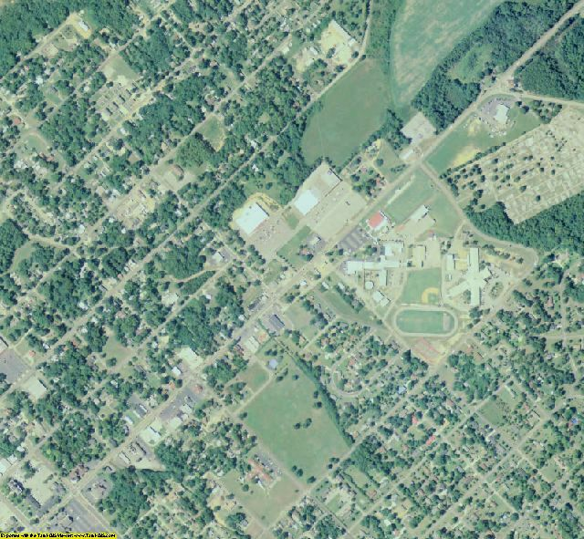 Bleckley County, GA aerial photography detail