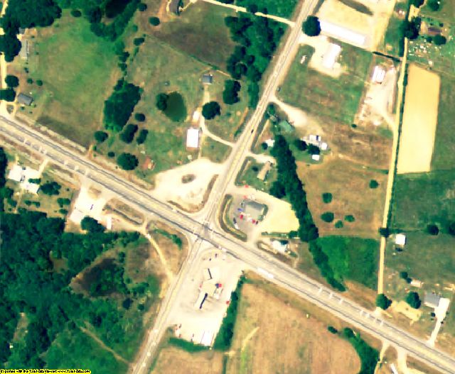 Blount County, AL aerial photography detail