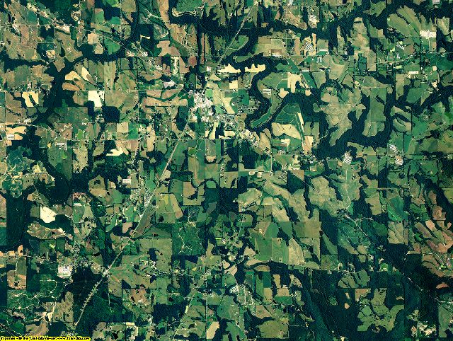 Blount County, Alabama aerial photography