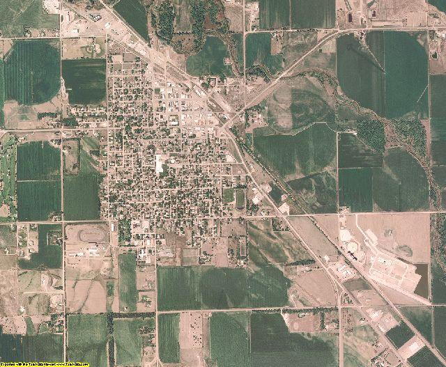 Boone County, Nebraska aerial photography