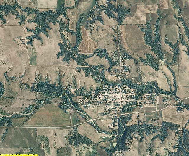 Boyd County, Nebraska aerial photography