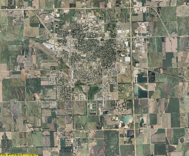 South Dakota aerial photography