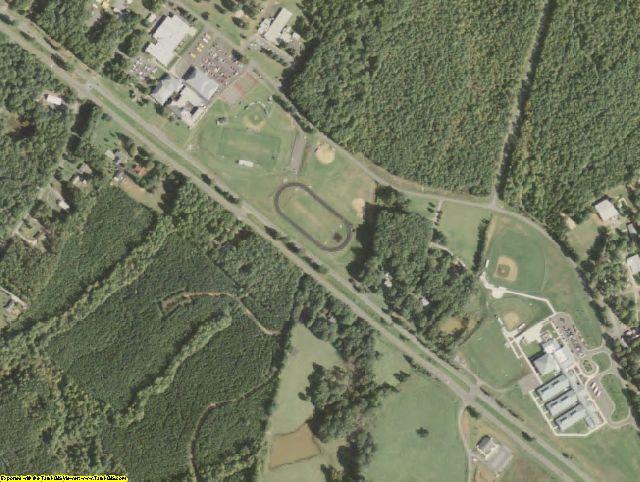 Buckingham County, VA aerial photography detail