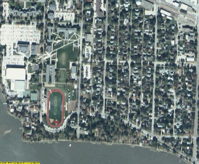 Buena Vista County, IA aerial photography detail