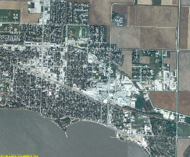 Buena Vista County, Iowa aerial photography