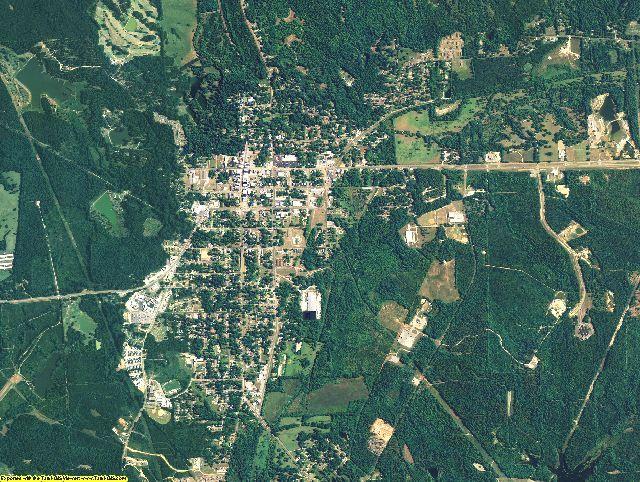 Bullock County, Alabama aerial photography