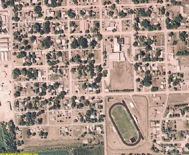 Burt County, NE aerial photography detail
