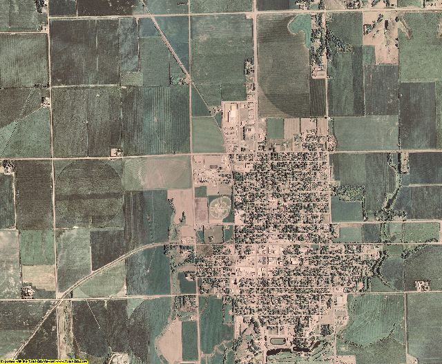 Butler County, Nebraska aerial photography