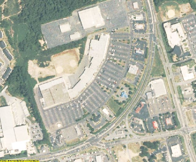 Cabarrus County, NC aerial photography detail