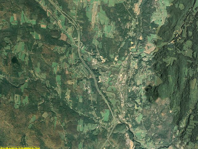 Caledonia County, Vermont aerial photography