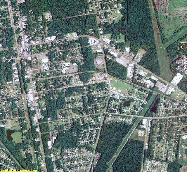 Camden County, GA aerial photography detail