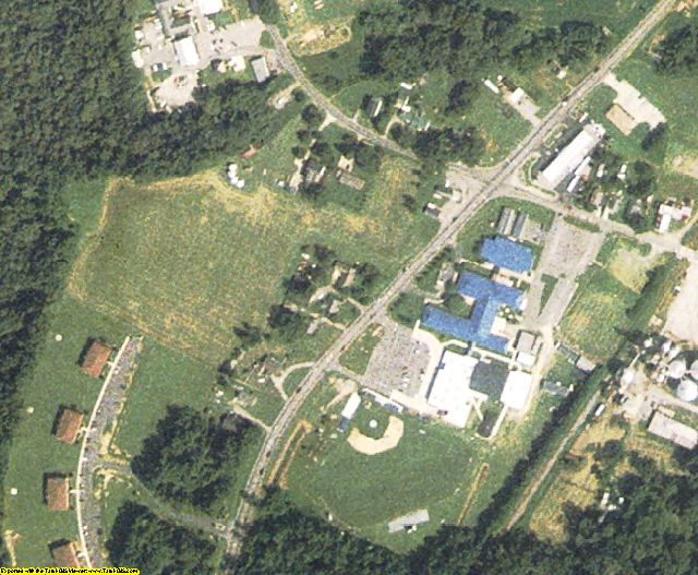 Camden County, NC aerial photography detail