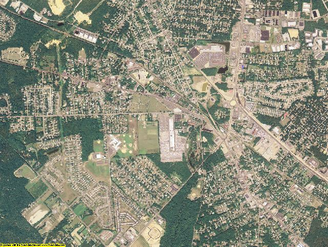 Camden County, New Jersey aerial photography