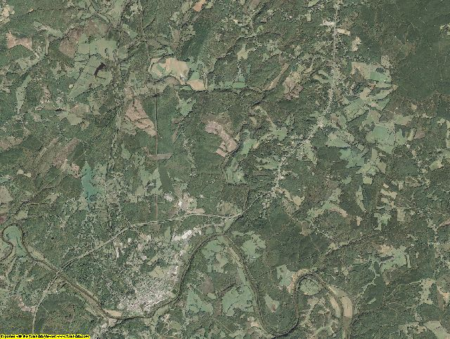 Campbell County, Virginia aerial photography