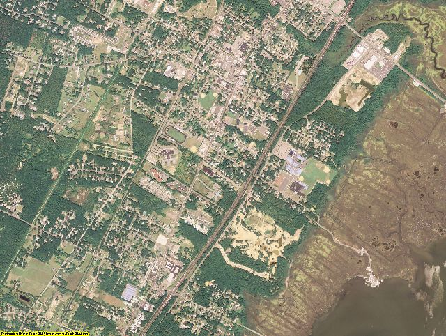 Cape May County, New Jersey aerial photography
