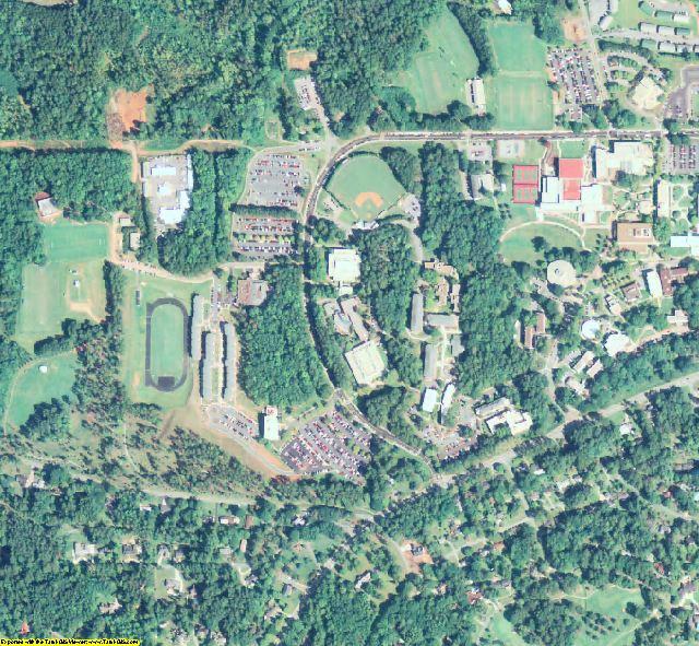 Carroll County, GA aerial photography detail