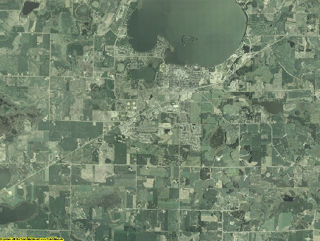 Carver County, Minnesota aerial photography