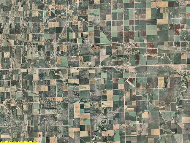 Cass County, North Dakota aerial photography