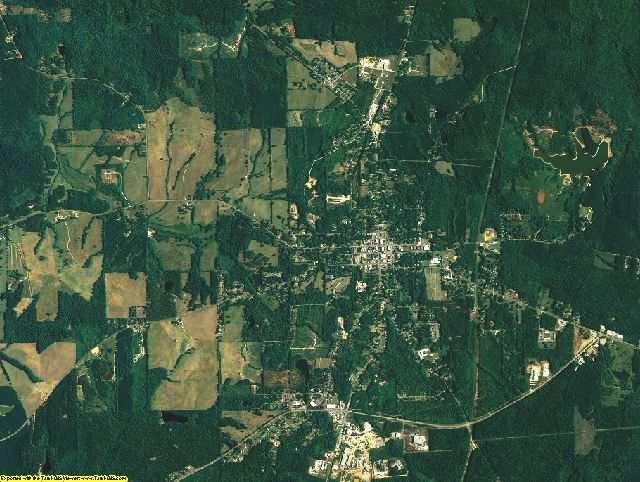 Chambers County, Alabama aerial photography