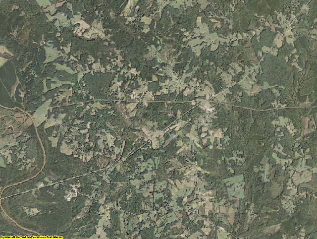 Charlotte County, Virginia aerial photography