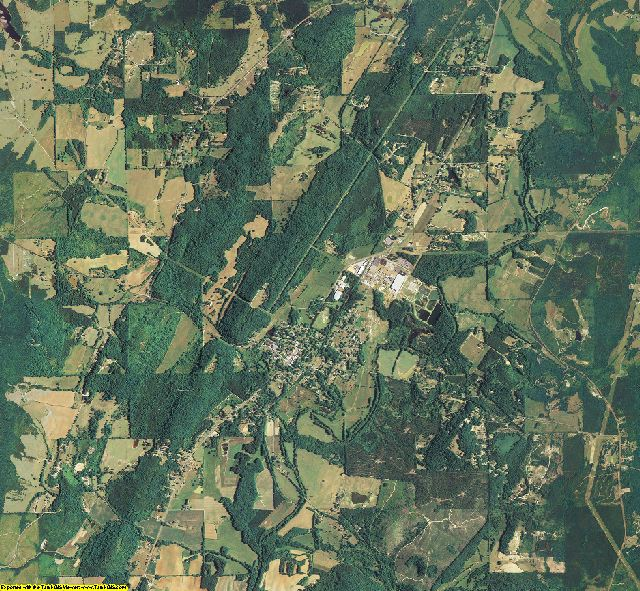 Chattooga County, Georgia aerial photography