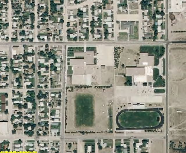 Cherry County, NE aerial photography detail
