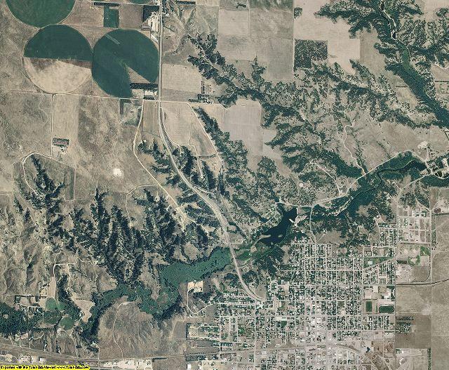 Cherry County, Nebraska aerial photography