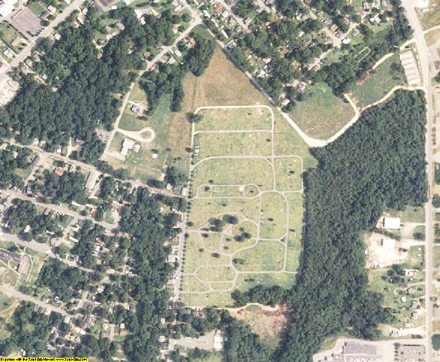 Chester County, SC aerial photography detail