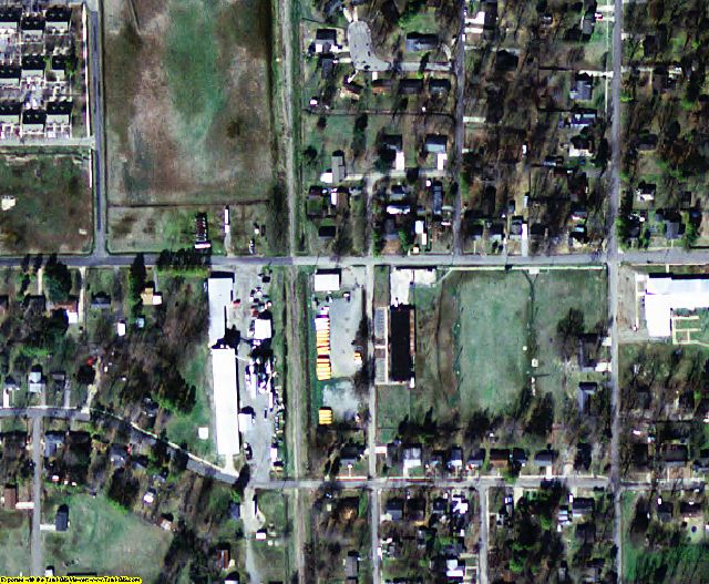Chicot County, AR aerial photography detail