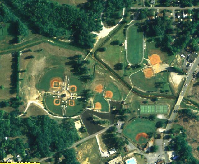 Chilton County, AL aerial photography detail