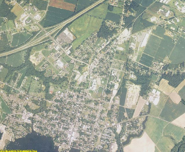Chowan County, North Carolina aerial photography