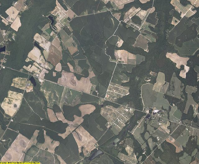 Clarendon County, South Carolina aerial photography