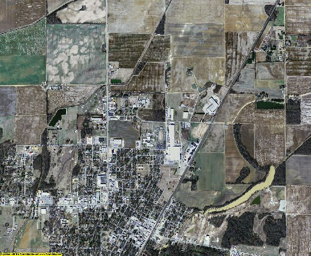 Clay County, Arkansas aerial photography