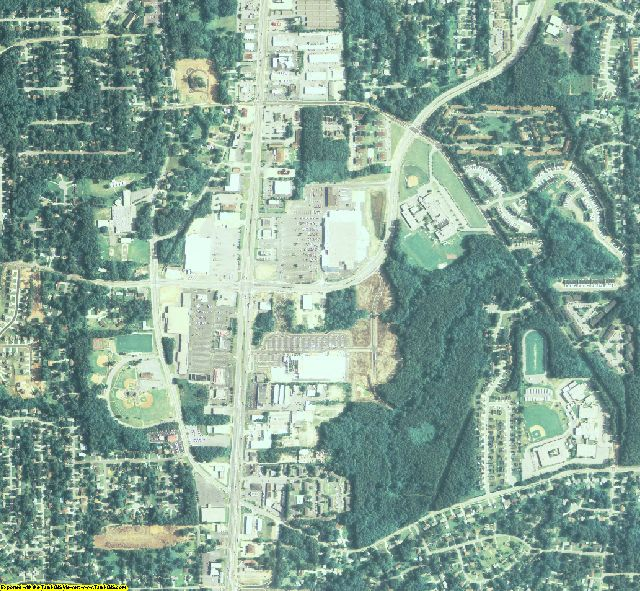Clayton County, GA aerial photography detail