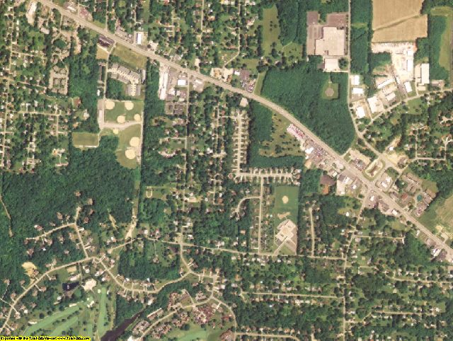 Clermont County, OH aerial photography detail
