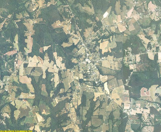 Cleveland County, North Carolina aerial photography