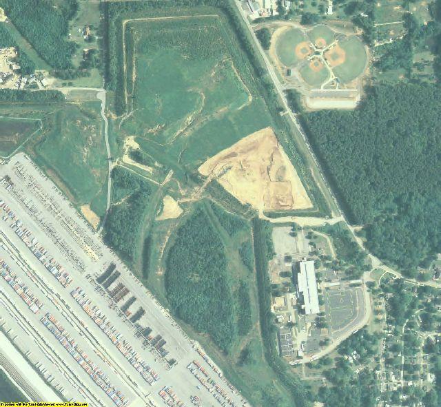 Cobb County, GA aerial photography detail