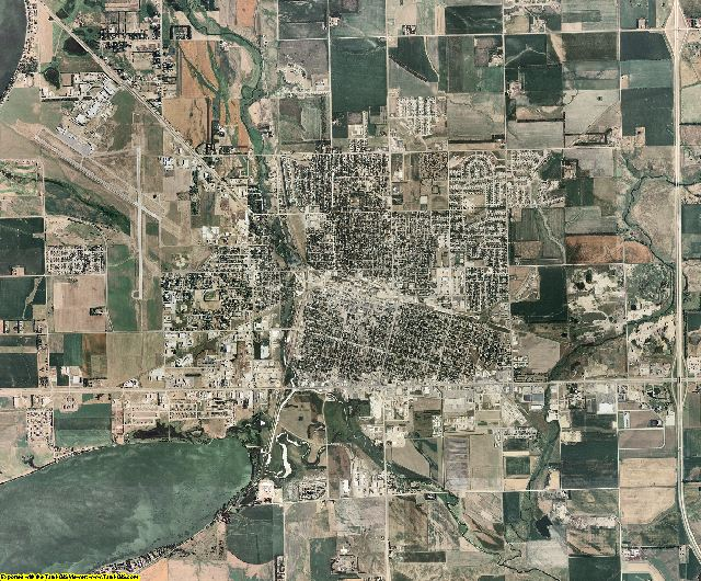 Codington County, South Dakota aerial photography