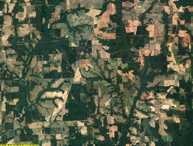 Coffee County, Alabama aerial photography